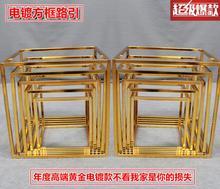 Wedding props geometric box road lead iron art three-dimensional decoration wedding greeting area layout