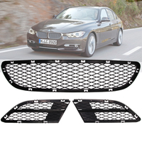 Front Lower Bumper Grille Kit Grill FOR BMW 3 Series E90 E91 325i 328i 335i