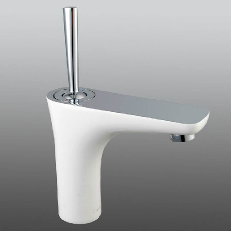 Modern Bathroom Sink Faucets White Color Singhle Handle MPDK018-in on one hole sink faucet, single handle utility faucet, vintage bridge kitchen faucet, copper kitchen sink faucet, single handle outdoor faucet, single handle wall faucet, pull down kitchen faucet, single handle bar faucet, single faucets for bathroom sink, single bathroom vanities and cabinets, american standard mop sink faucet, best brand of kitchen faucet, oil rubbed bronze kitchen sink faucet, shampoo sink faucet, single handle vessel faucet, single handle shower, single handle ceramic disc cartridge, master plumber brand kitchen faucet, danze sirius faucet, single handle faucet repair,