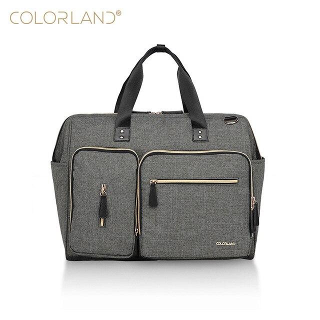 COLORLAND Large Diaper Bag Organizer Nappy Bags Maternity Bags For Mother Baby Bag Stroller Diaper Handbag
