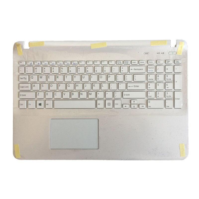 US Laptop keyboard for sony Vaio SVF15 FIT15 SVF151 SVF152 SVF153 SVF1541 SVF15E white with Palmrest