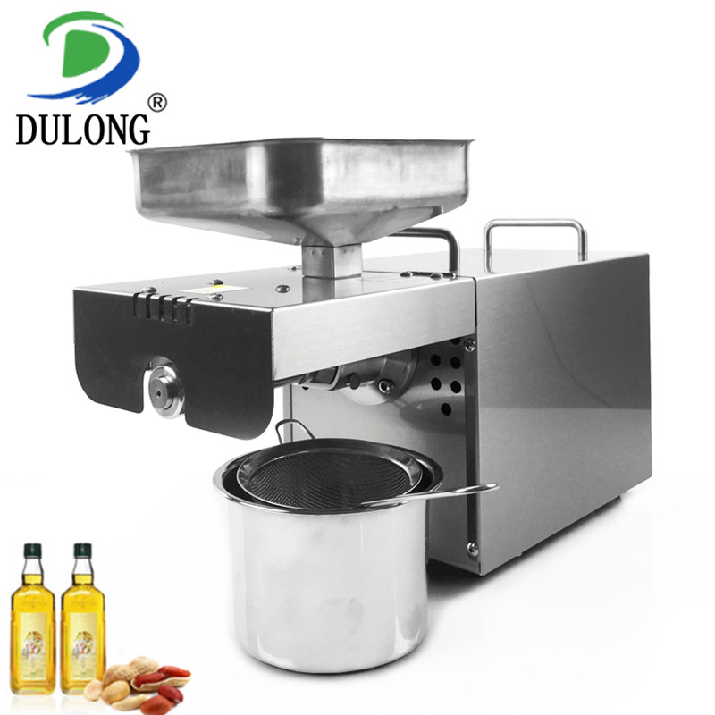 High oil extraction rate heat and Cold home oil press machine pine nuts cocoa soy bean olive oil press machine 220v hot and cold home oil press machine peanut soy bean cocoa oil press machine high oil extraction rate zyj 02
