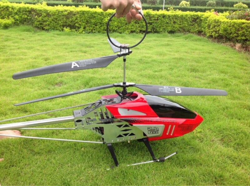 75 cm grand grand rc hélicoptère BR6508 2.4g 3.5CH Super Grand Métal RC Hélicoptère enfants enfant meilleurs cadeaux jouet jouer