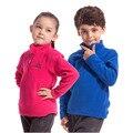 2016 Nuevo Otoño las Chaquetas de Lana Para Niñas niños Sudaderas Deportivas 4-12Y Niños de Marca Camisetas de Manga Larga Caliente Al Aire Libre SC575
