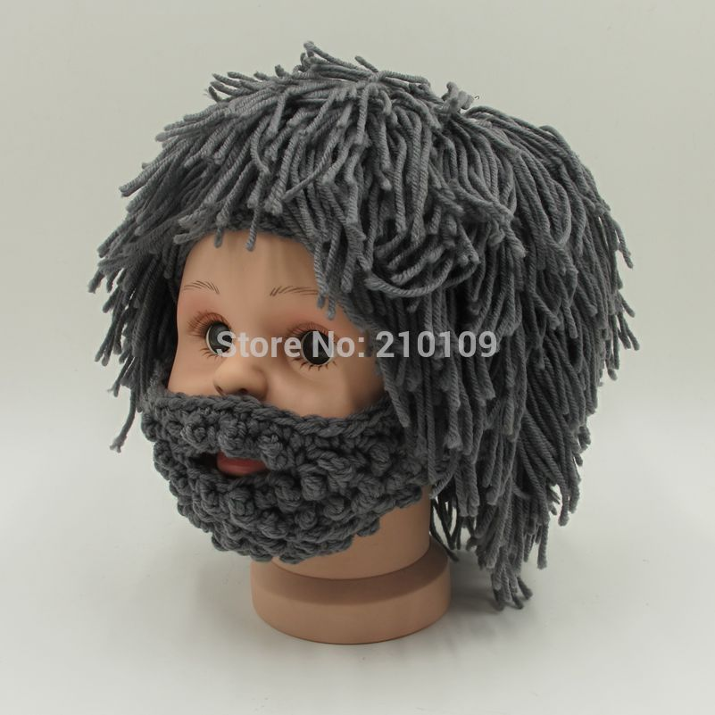 Knitting Patterns Baby Novelty Hats : Aliexpress.com : Buy Novelty Wig Beard Hats Hobo Rasta ...