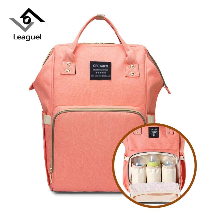 Leaguel women packbags Large Capacity Baby Bag mother Travel Designer Nursing Bag for Baby Mom Backpack Women Carry Care Bags