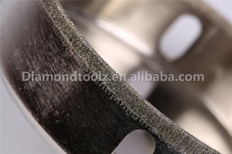 Talentool 95 mm-es galvanizált gyémánt fúró üveg lyukas - Fúrófej - Fénykép 2