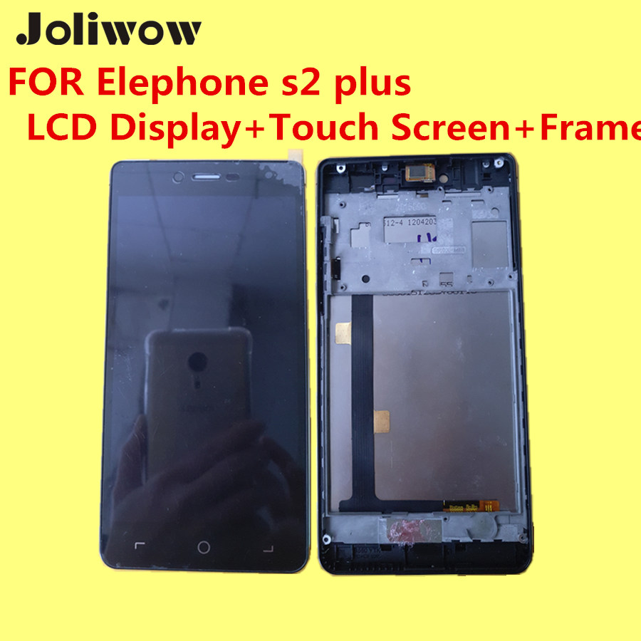 FOR Elephone s2 plus LCD Display+Touch Screen+Frame+Tools 100% Original Digitizer Assembly Replacement Accessories For Phone