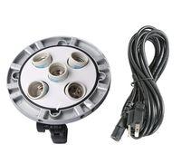 Godox TL 5 5 in1 Multi Holder Bulb Lamp Head Tricolor Light Camera Photography Studio