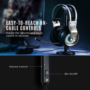 Image 5 - MPOW EG3 Pro Gaming Driver 50 Mm 3.5 Mm USB Có Dây Tai Nghe Với Trên Dòng Điều Khiển Âm Lượng Loại Bỏ Tiếng Ồn mic Cho Máy Tính Xbox