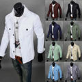 9 color Free shipping new 2016 spring fashion 8 colors outerwear men's clothing outdoors slim fit casual thin jean jacket men