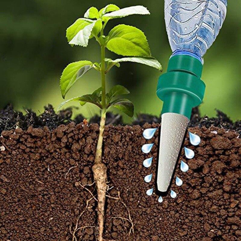 Automatische Selbst-Bewässerung Versickerung Moving Anlage Waterer Flaschen Faul Blume Wasser Tropf Bewässerung Gerät Controller