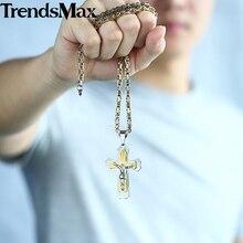 Christian Jewelry Jesus Cross Pendant Necklace