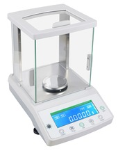 2016 New 200 x 0.0001 g 0.1mg Lab Analytical Balance Digital Electronic Precision Scale with Auto Calibration Function CE