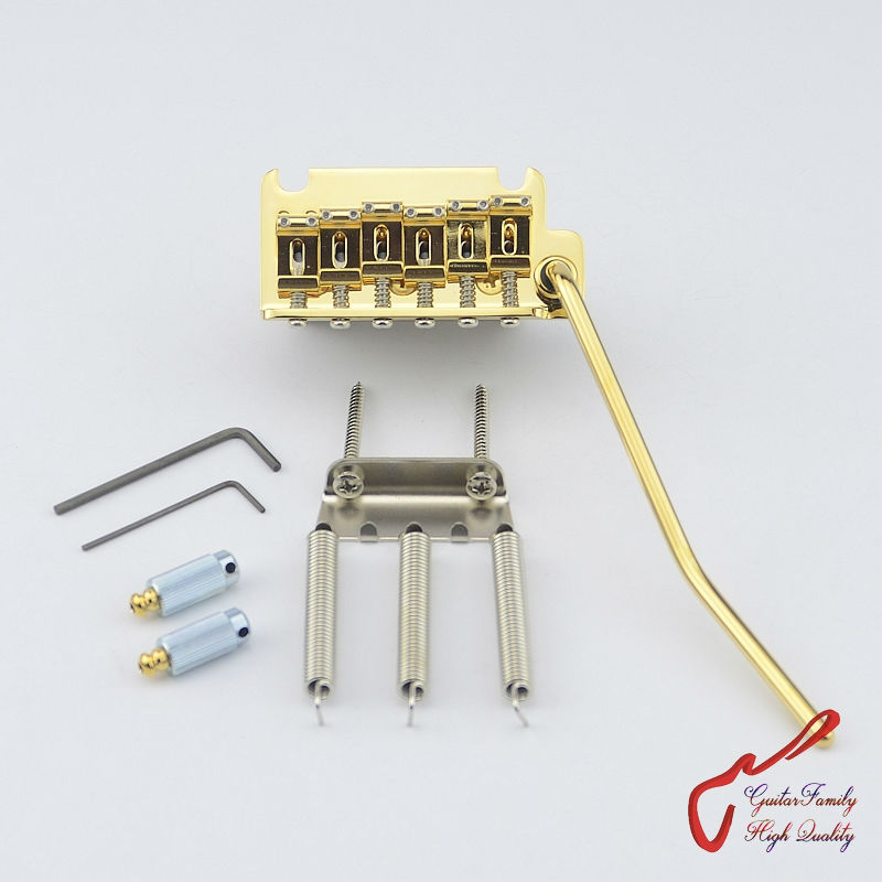1 Set Genuine Original GOTOH 510TS-SF1 2 Points Vintage Style Electric Guitar Tremolo System Bridge  ( Gold )  MADE IN JAPAN savarez 510 cantiga series alliance cantiga normal high tension classical guitar strings full set 510arj