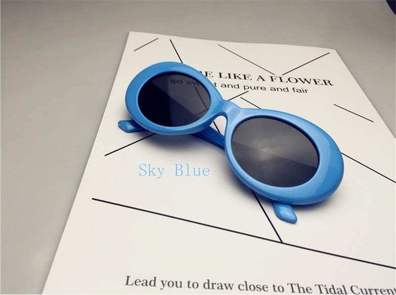 HTB1EUeAQXXXXXXqXpXXq6xXFXXXm - Kurt Cobain Star Style Sunglasses Men Women Retro Sun Glasses 16 Colors PTC 200