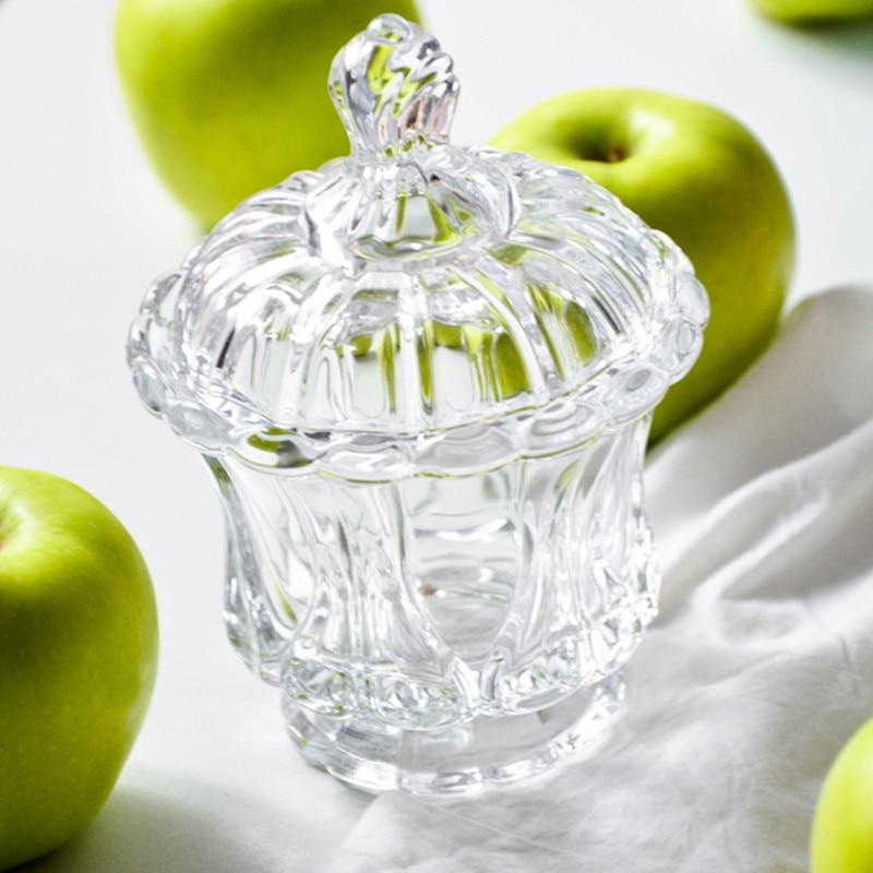 Eenvoudige mode snoep jar kleur glazen pot koffiebonen suiker blikjes - Home opslag en organisatie - Foto 4