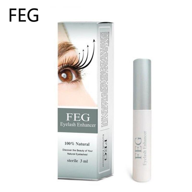 New Brand FEG Eyelash Growth Treatments Chinese Herbal Powerful Makeup Liquid Serum Enhancer Eye Lash Longer Thicker 3ml herbal muscle