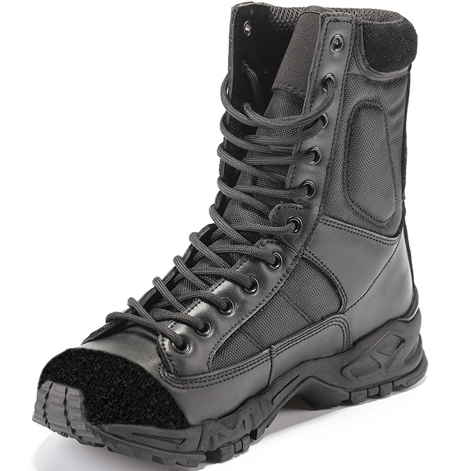 SWAT Tactical Boots Military Combat Hiking Shoes Army black Breathable Wearable with high quality AirBorne Boot