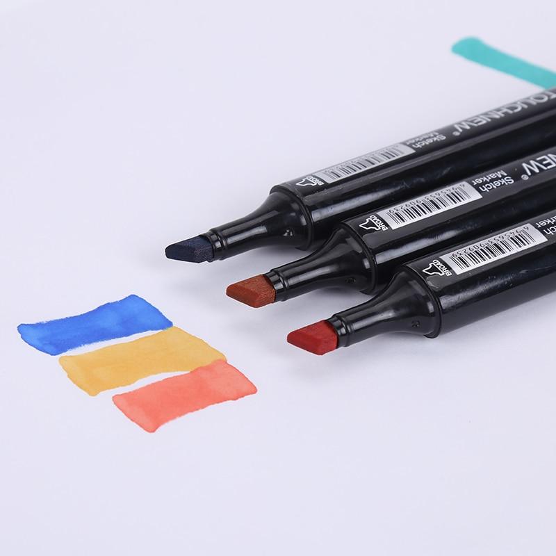 Marcadores da Arte caneta desenho conjunto manga dupla Sketch Drawing Pencils : Office School Pencil Supplies