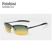 Day Night Vison Multifunction Stainless Steel Sunglass Sports UV COOL Driving Car Men S Sunglasses Women