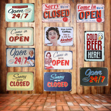 cartel open RETRO VINTAGE