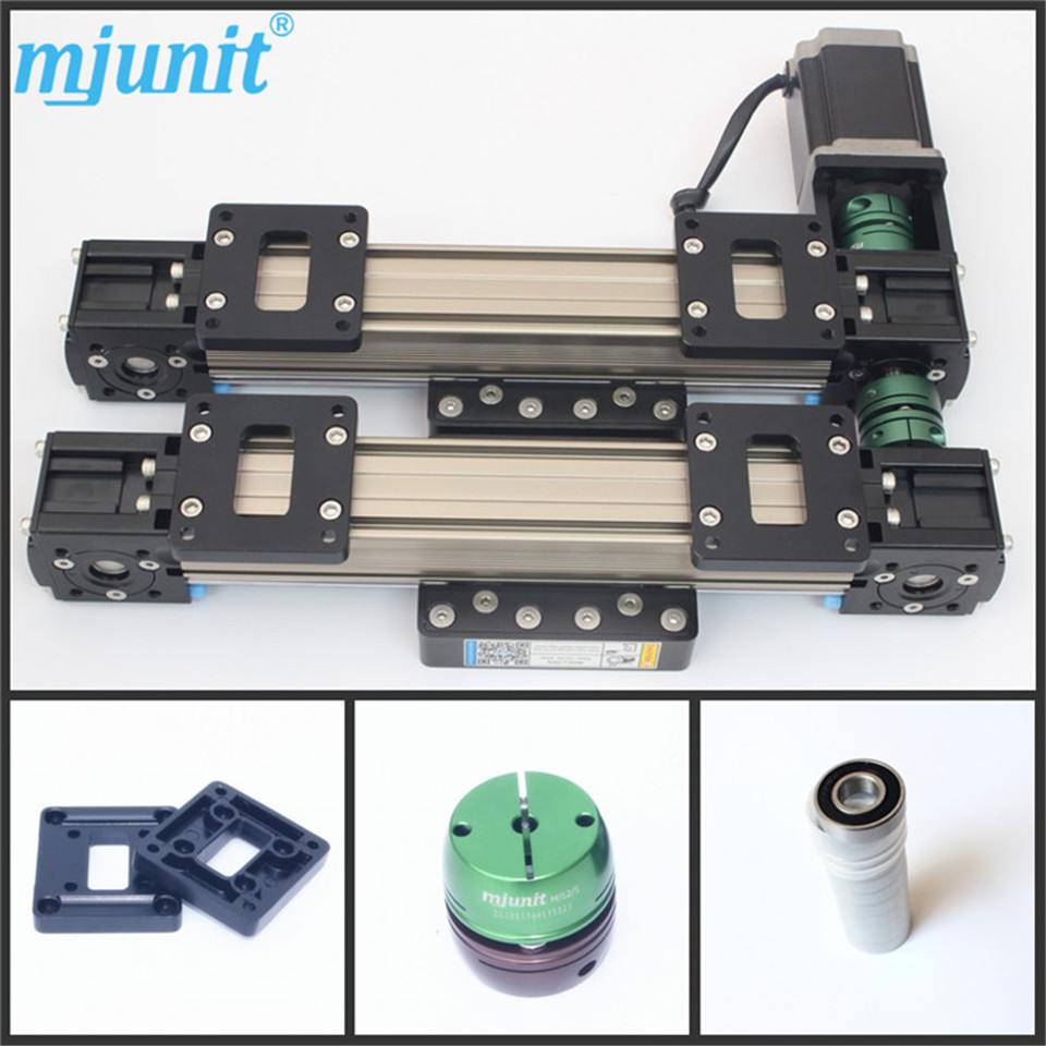 brh20a laser machine linear rail linear guide  block mgn9c  guideway belt drive high quality cnc router ball linear rail guide roller shaft guideway toothed belt driven