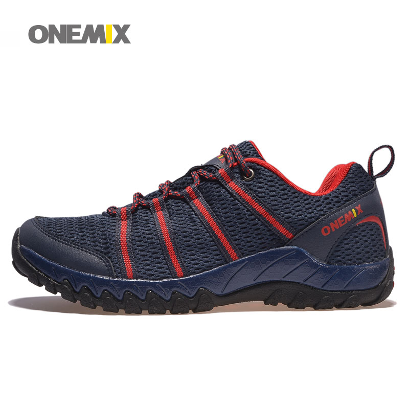 ONEMIX Mens Running Shoes with 7 Colors Mesh Breathable Outdoor Walking Shoes for Men Sneakers EUR Size 39-45 Plus Size 1092 onemix mens running shoes with 4 colors breathable mesh stylish athletic sport shoes for men sneakers eur size 39 45 1118 1