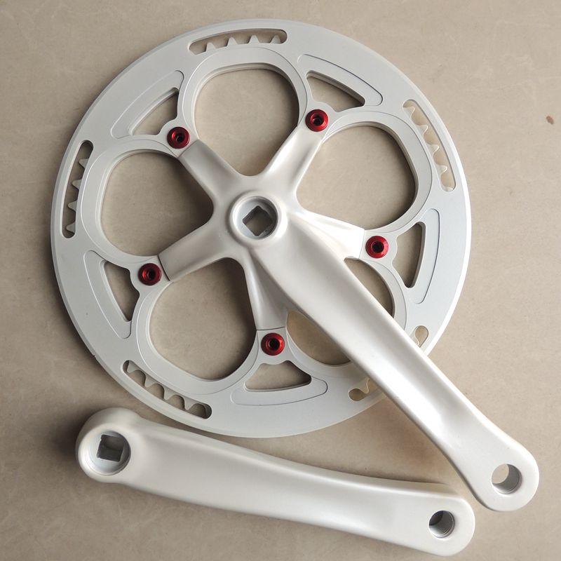 NGT 53 T vélo chaîne roues VTT pédalier en alliage d'aluminium pliant route vélo chaîne roue manivelle ensemble 175mm Top marque