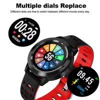 2019 Smart Watch Men Bluetooth Sport Watches Women Rel gio Smart watch with Heart Rate Monitor Blood Pressure Fitness Tracker