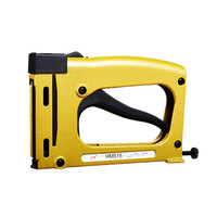 HM515 Manual Staple Gun Manual Stapler Manual Nailer frame tacker with 1000 pcs free cost nails frame Angle nail gun