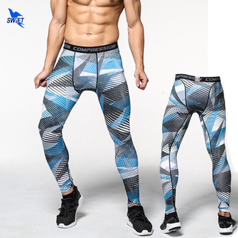 Fitness Leggings Camo: Camouflage Running Tights Men Jogging Sport Leggings