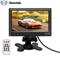 "7"" inch LCD HD Parking Dashboard Display Screen Rear View Monitor with MP5 Player for Cars / Bus / Truck / Caravan"