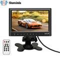 """7 """"pulgadas de Pantalla LCD HD Dashboard Aparcamiento de Visión Trasera Del Monitor con Reproductor de MP5 para Coches/Autobuses/Camiones/caravana"""
