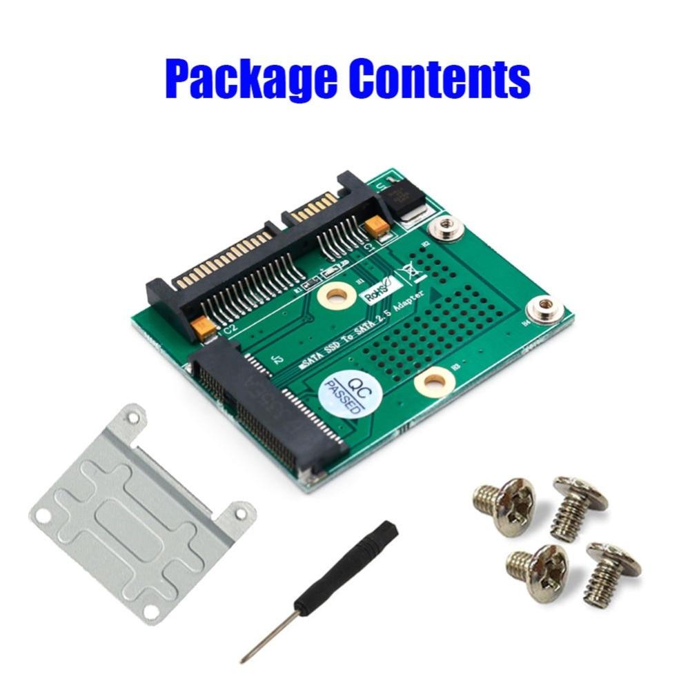 Mini PCI-E PCI Expres Msata SSD To 2.5