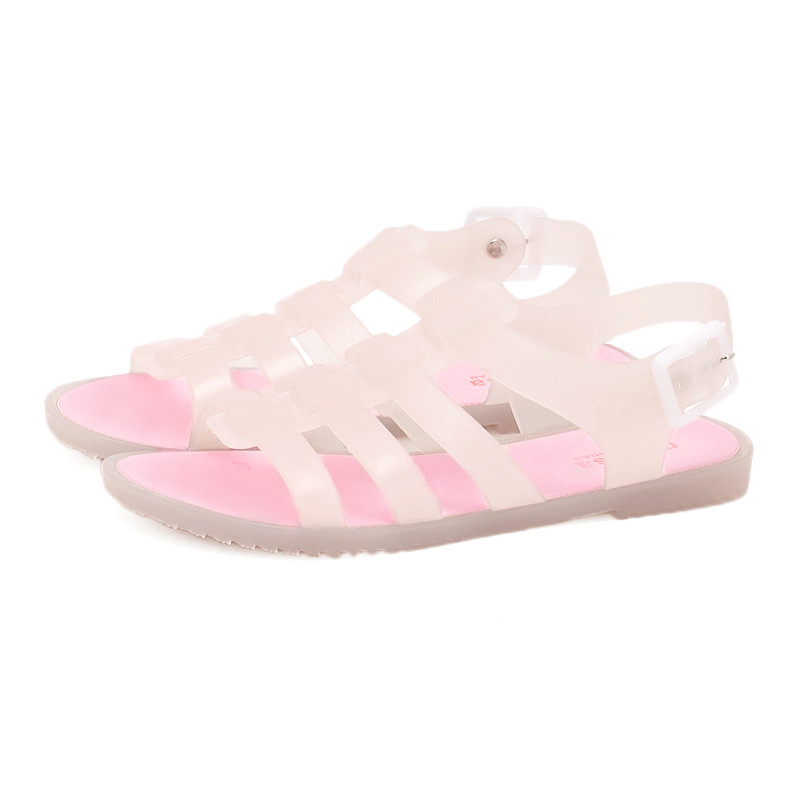 Summer Shoes Woman Fashion Sandals Casual Shoes Breathable Slippers Girls Plastic Mules Outdoor Lovers Feminino Buckle Clogs