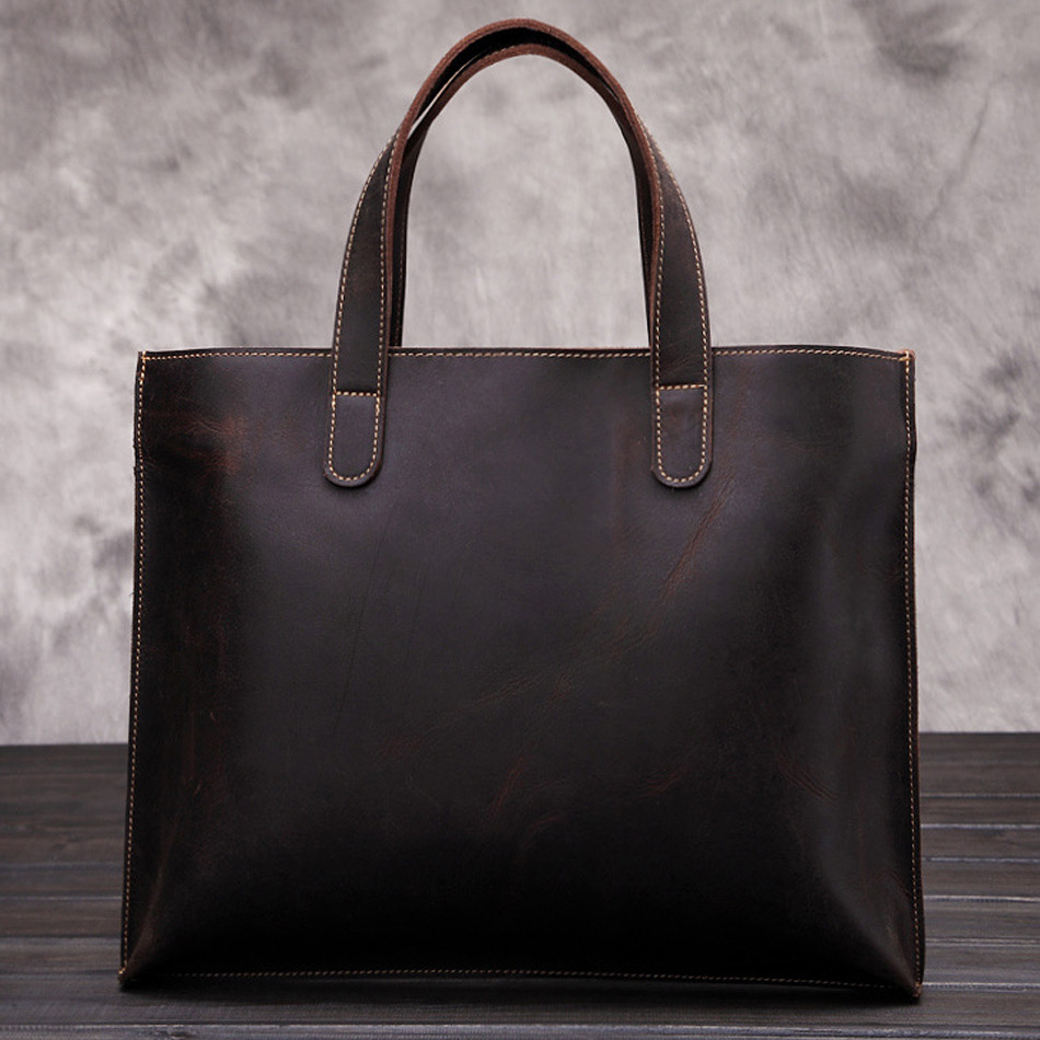 High quality Office Bags For Men fashion Style Genuine Leather Men Business Bags Briefcase Bag Office Men Business Manly Offic High quality Office Bags For Men fashion Style Genuine Leather Men Business Bags Briefcase Bag Office Men Business Manly Offic