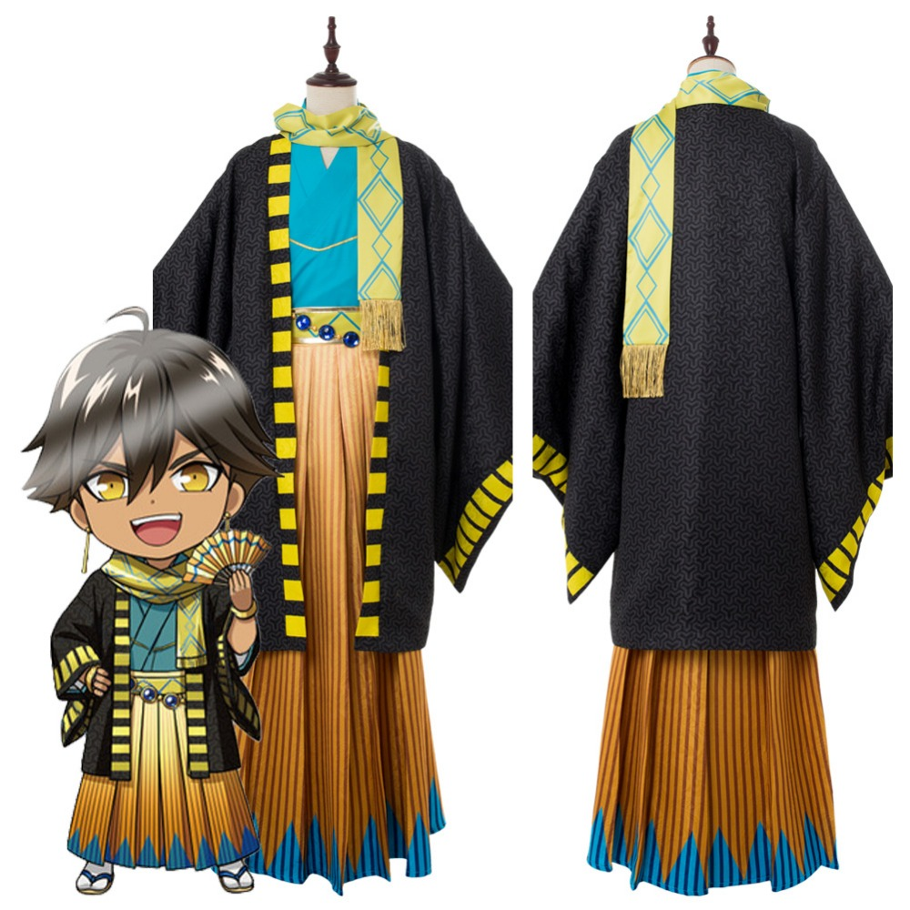 FGO Cosplay Costume Fate Grand Order Ozymandias Ramesses Kimono Cosplay Costume Adult Men Halloween Carnival Costumes
