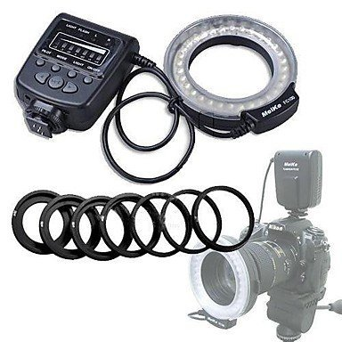 Mcoplus FC-100S 32 LEDs Macro Ring Flash Light for Sony Camera A200 A290 A300 A350 A390 A450 A500 A550 A560 A580 A700 A850 A900 meike s af b auto focus macro extension tube ring set adapter for sony alpha a7 ii a580 a550 a350 a900 a77 a550 a300