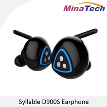 New Syllable D900S In-Ear Wireless earphone Stereo Sport Bluetooth4.0 Headset Active Noise Cancelling Earbuds Waterproof IPX4