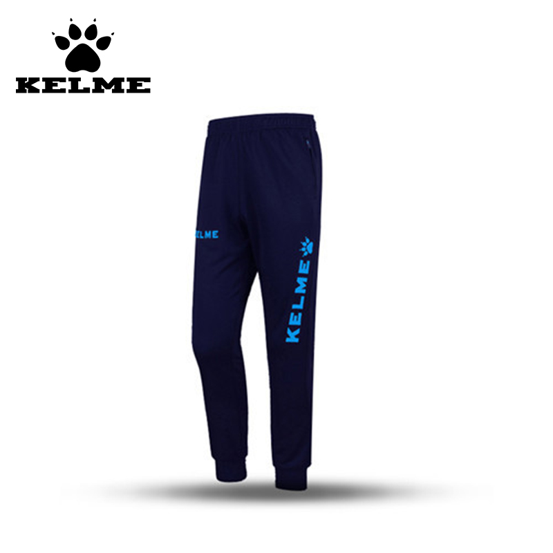 ФОТО KELME Spain Brand Top Quality Jogging Football Pants Homme Running Fitness Maillot De Foot Breathable Soccer Training Pants 07
