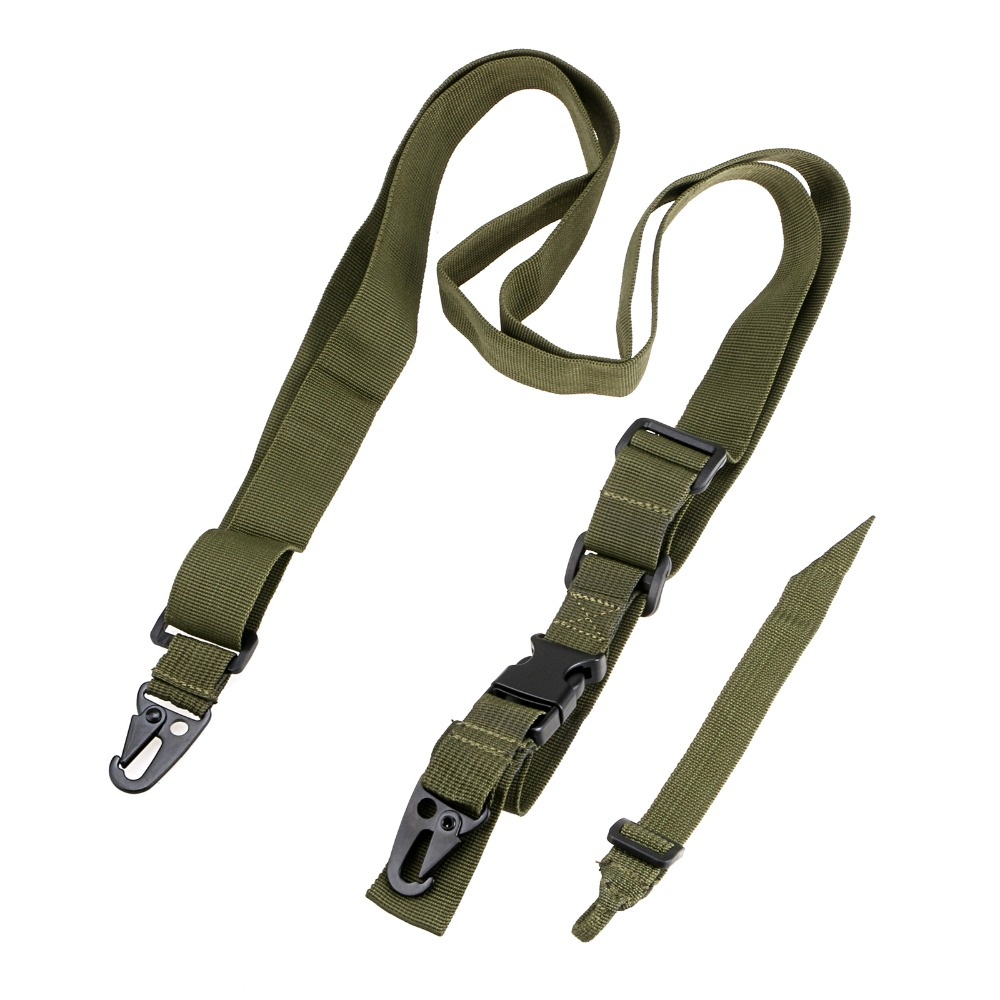 Tactical 3 Point Bungee Sling Rifle Sling Justerbart Airsoft Gun - Jakt