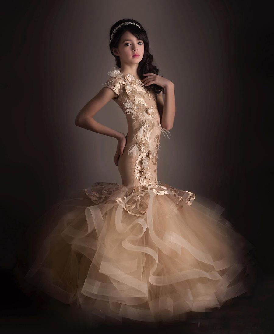 Online Get Cheap Pageant Dresses for Girls Glitz