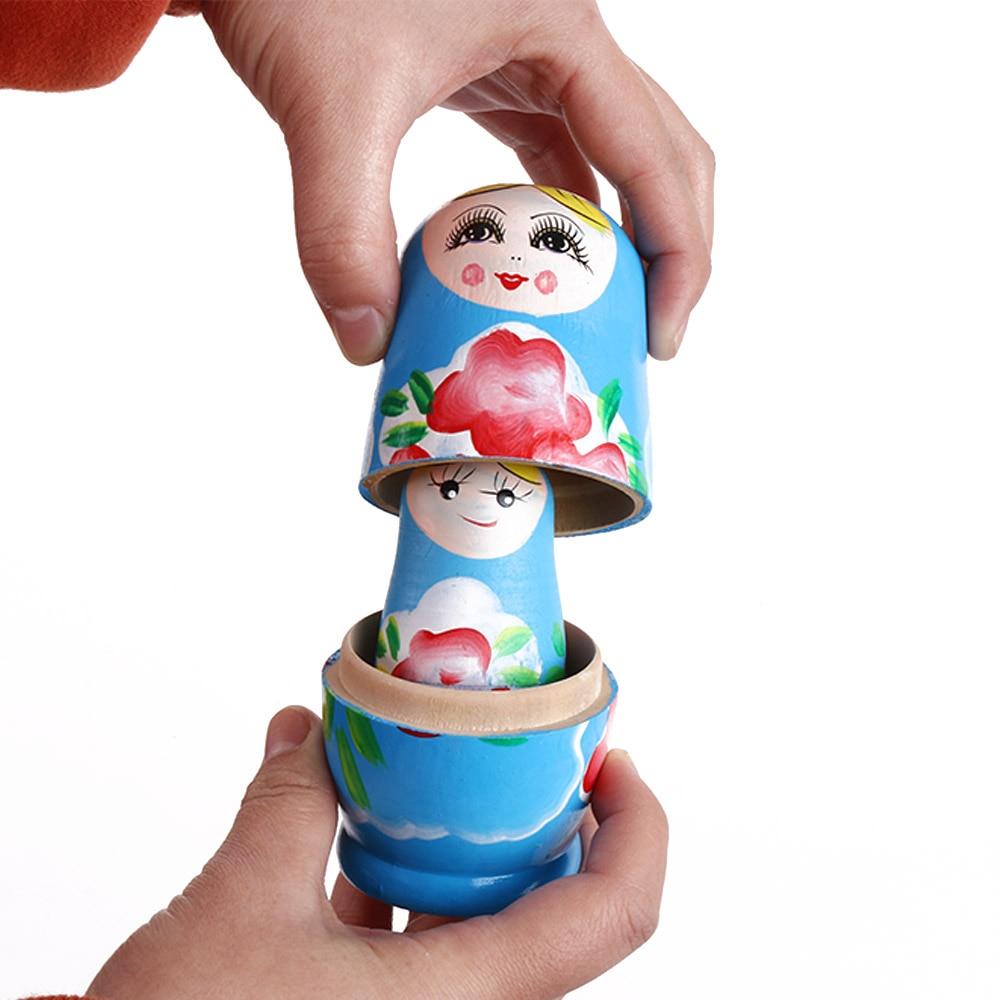 Strawberry Matryoshka Russian Nesting Dolls Matrioshka Babushka Babuska 5 Pcs