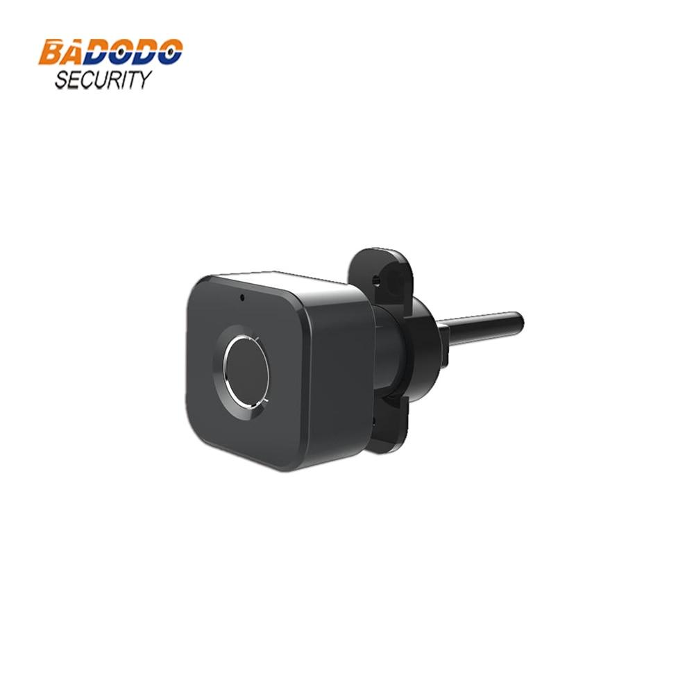 Image 3 - Smart keyless Fingerprint cabinet Lock biometric electric lock for office drawer file cabinetElectric Lock   -