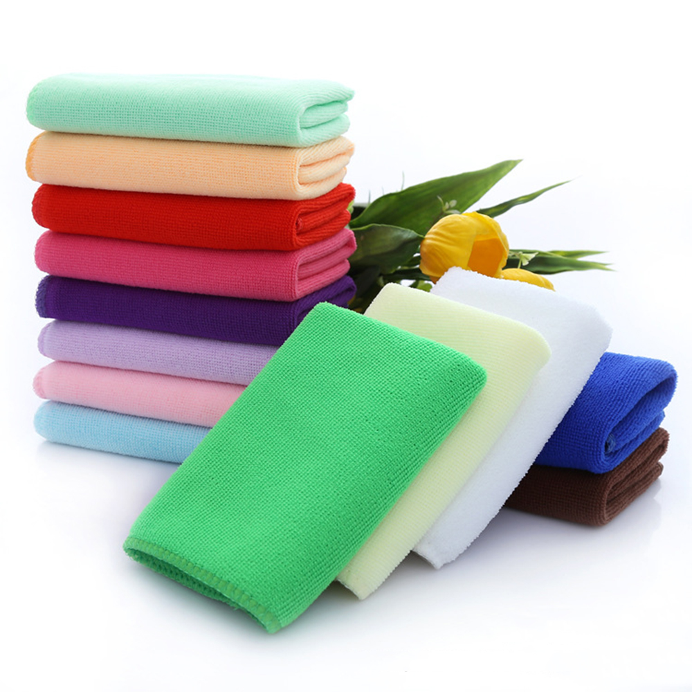 10PC Microfiber Towel Absorbent Car Home Clean Wash