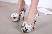 Liren 2019 Summer Fashion High Heels Thin Platform Lady Sandals Shallow Wrapped Toe Women Size 34-40