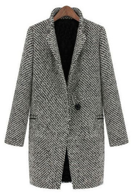 Online Buy Wholesale tweed trench coat from China tweed trench
