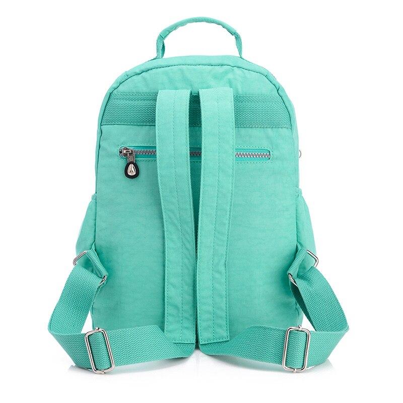 6998910cc036 Newest Waterproof Small Backpack for Teenage Girls 16 Colors School Bag  Nylon Mini Backpacks Female Mochila Feminina Escolar-in Backpacks from  Luggage ...