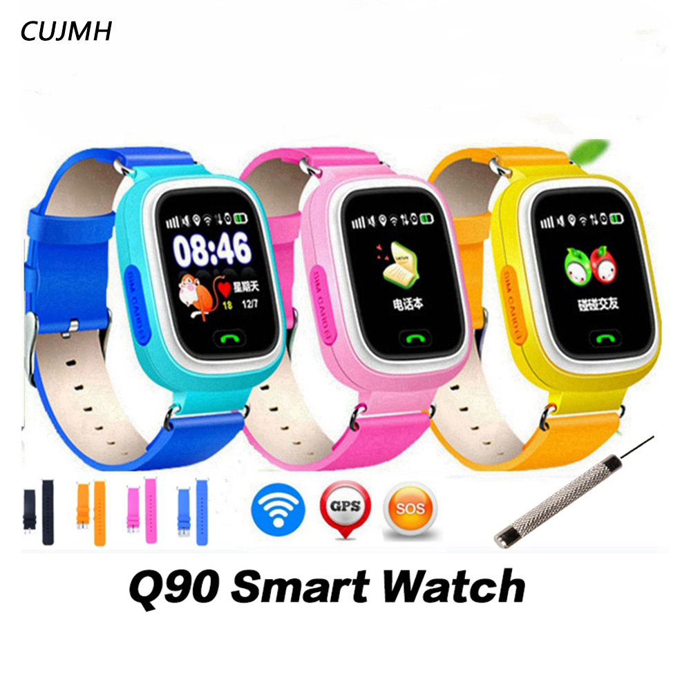 Smart Electronics 2018 Round Touch Display Anti-take Off Geofence Smartwatch Magnetic Charging Gps Kids Watch Kids Tracker Gps Watch For Iphone 8